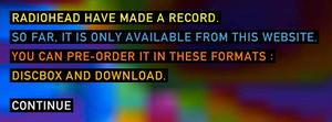 2 mots sur la nouvelle stratégie de vente de Radiohead