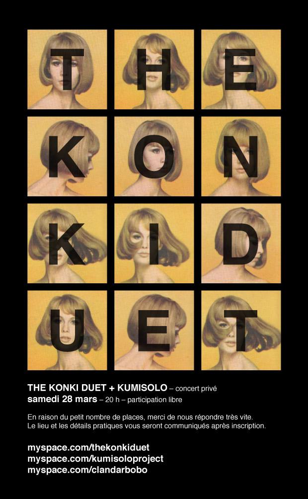 le Konki duet et Kumisolo en concert privé !