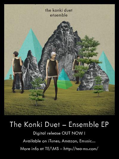 """""""Ensemble"""", un nouveau EP taille patron pour le Konki duet"""