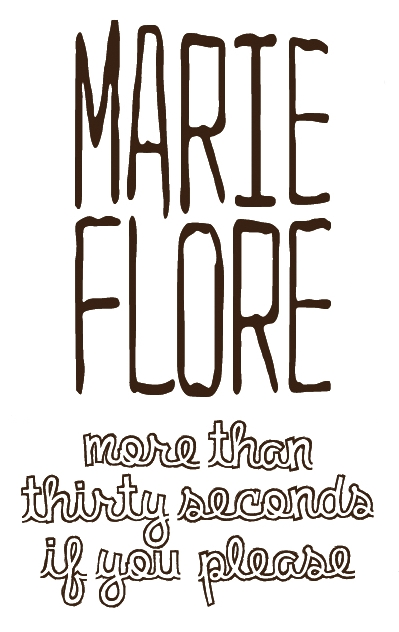 Marie-Flore : l'interview de More than 30 seconds (version texte)