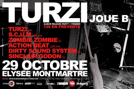 Turzi : gagnez vos places pour l'Elysée-Montmartre jeudi 29