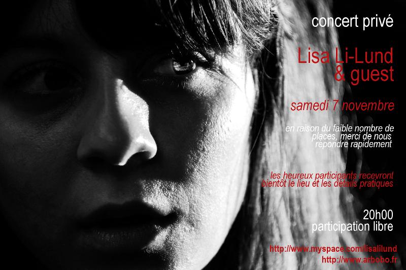 Lisa Li-Lund et Orouni : 1 place à gagner (concert privé)