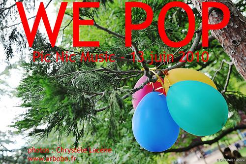 Une journée we pop : musique à gogo