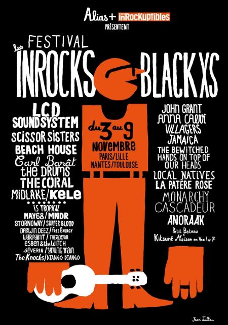 Festival des Inrocks 2010 : 10 places à gagner