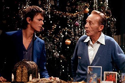 Noel, c'est aussi avec les vieux potes : Bowie & Crosby