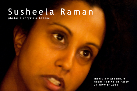 Susheela Raman, Vel. Faire entendre la diaspora (interview)