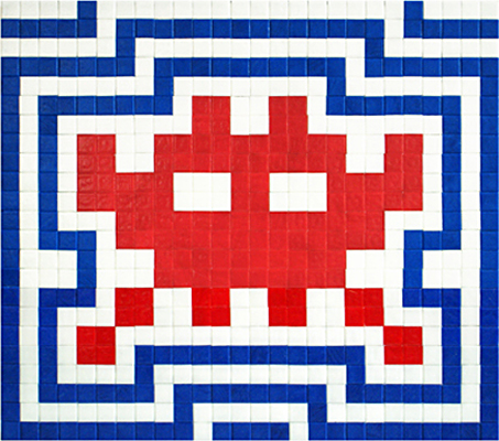 L'invasion du profanateur : Space invader