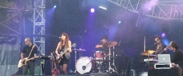 Keren Ann à Rock en Seine 2011
