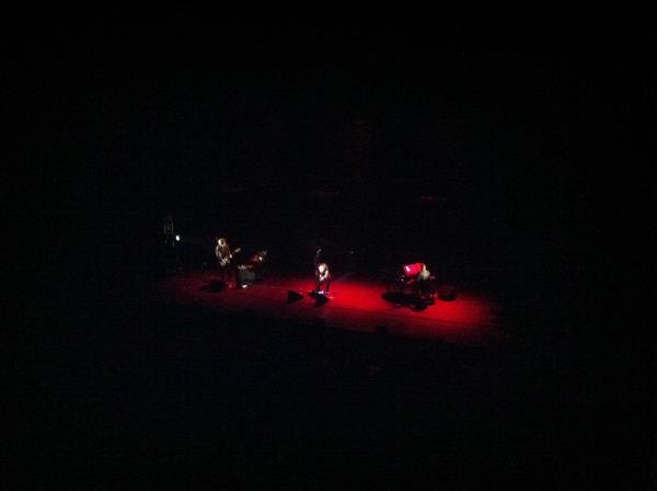 Dominique A au Théâtre de la ville, 26.01.12