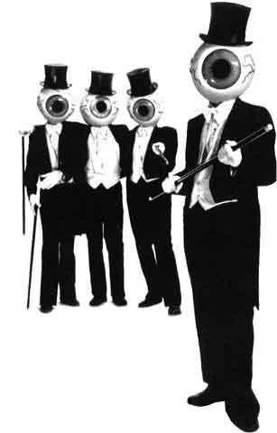 """Le masque la plume : les """"personnages"""" dans le rock"""